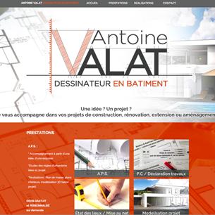 Antoine Valat - Dessinateur en Bâtiment